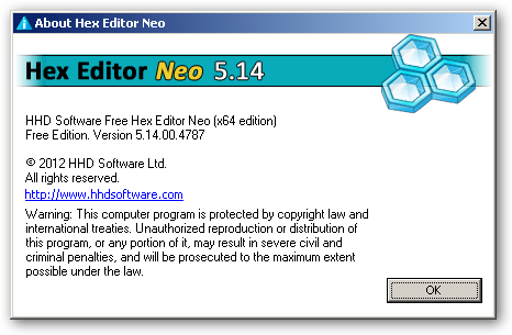 Free Hex Editor Neo 64bit version