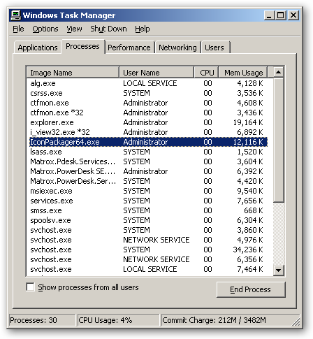 IconPackager 64bit version