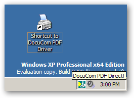 DocuCom PDF Driver - x64 version