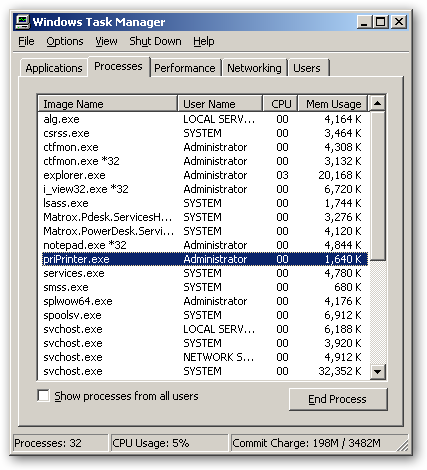 priPrinter 64bit version