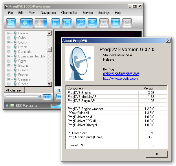 ProgDVB 64bit version