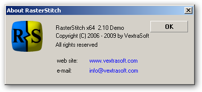 RasterStitch 64bit version