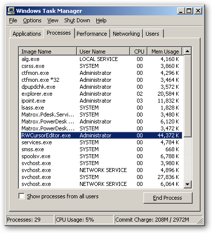 RealWorld Cursor Editor - x64 version