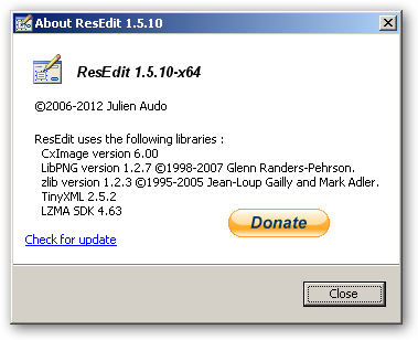 ResEdit 64bit version