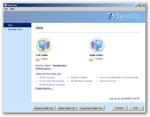 SyncToy 64bit version