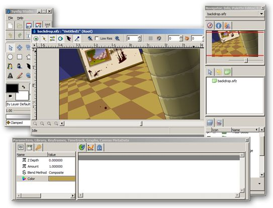 Synfig Studio 64-bit version