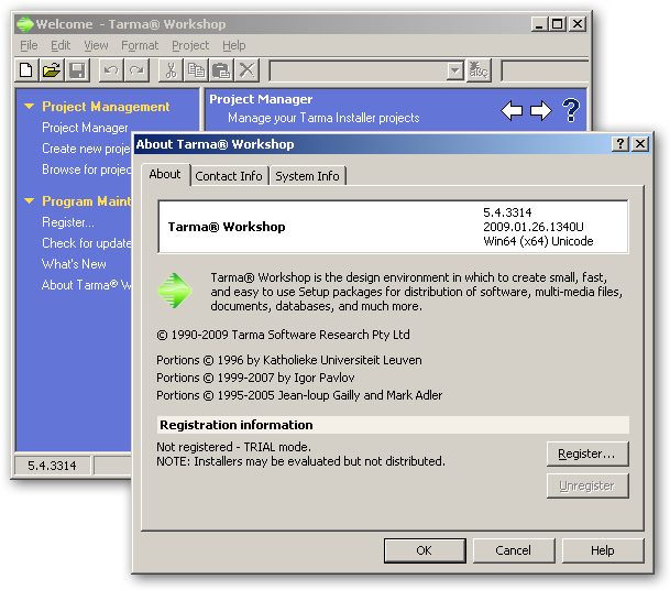 Tarma Installer 64bit version