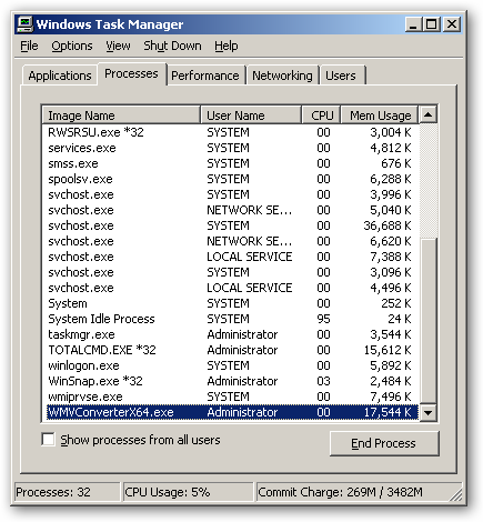 WMV Converter 64bit version