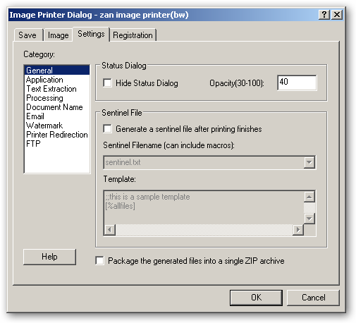 Zan Image Printer under x64